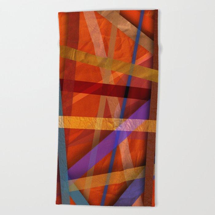 Abstract #366 Beach Towel