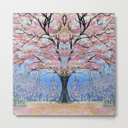 Japanese Tree of Life 3 Metal Print