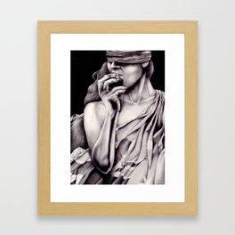 Warganic Framed Art Print