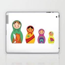 Modern Matrioshkas Laptop & iPad Skin