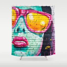 Street Art Shower Curtain