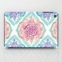 rainbow iPad Cases featuring Indian Ink - Rainbow version by micklyn