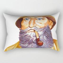 The Old Sailor Rectangular Pillow