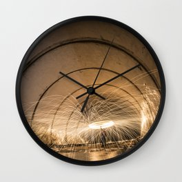 Angeles Crest Spin Wall Clock