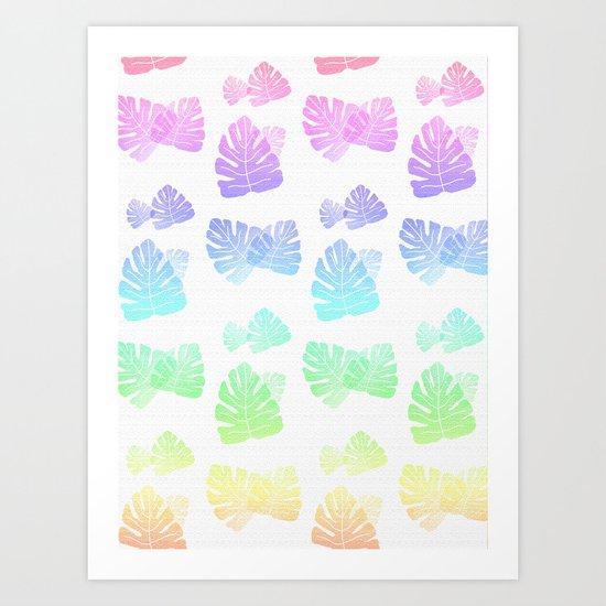 Tropical Cascade Art Print