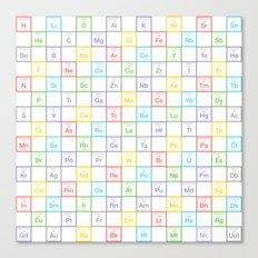 Periodic Pattern Canvas Print