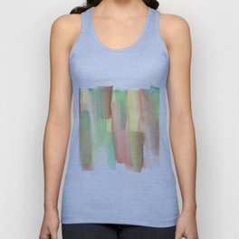 [161228] 21. Abstract Watercolour Color Study Unisex Tank Top