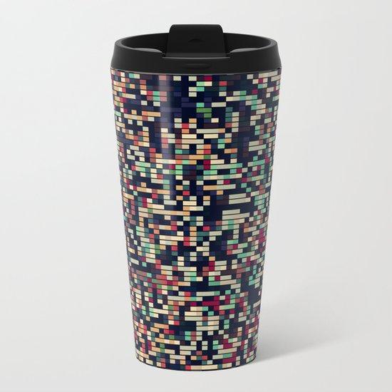 Pixelmania III Metal Travel Mug