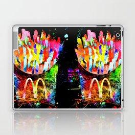 French Fries Grunge Laptop & iPad Skin