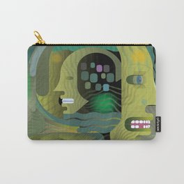 Race Against Time Carry-All Pouch