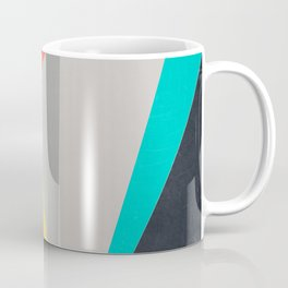 Aggressive Color Block Coffee Mug