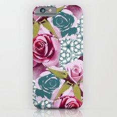 Modern Baroque Rose Slim Case iPhone 6s