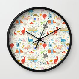 Down Under Wall Clock