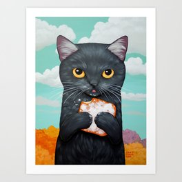 BEIGNET ALL DAY Art Print