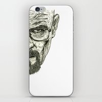 breaking iPhone & iPod Skins featuring Breaking Bad by Adam McDade