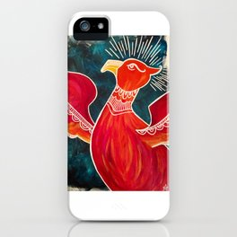 May the Phoenix Rise iPhone Case