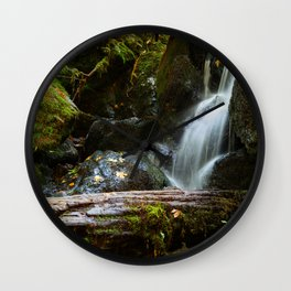 Falls - Panorama Wall Clock