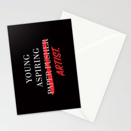 Young Aspiring Artist Stationery Cards