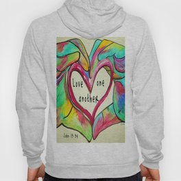 Love One Another John 13:34 Hoody