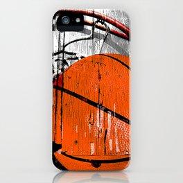 Modern Basketball version 1 iPhone Case