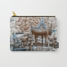 Chinese Garden Infrared Carry-All Pouch