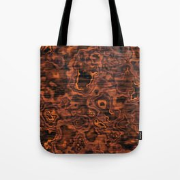 Knotted Wood Tote Bag