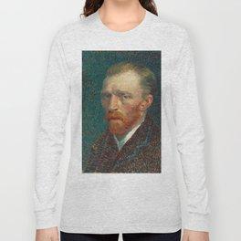 Vincent van Gogh - Self-Portrait, 1887 Long Sleeve T-shirt