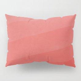 Shades of Vivid Red Pillow Sham