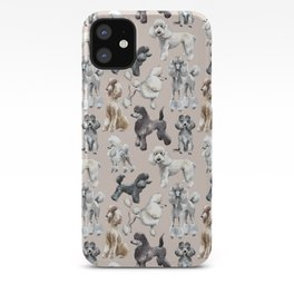 Poodles iPhone Case