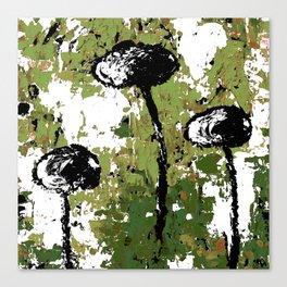Rock Your Grunge II Greenery Canvas Print