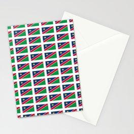 Flag of namibia-namibia,namibian,Windhoek,namibio,Namibiese. Stationery Cards