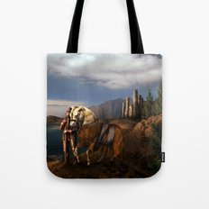 The Knight of the Kingdom Tote Bag
