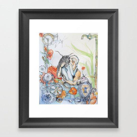 lost time Framed Art Print