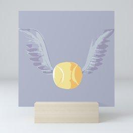 Magic cute wings  Mini Art Print