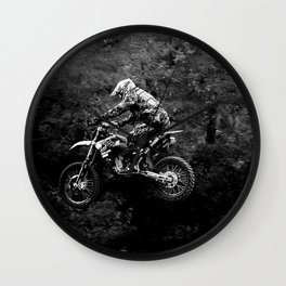 Jump MX Wall Clock