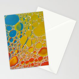 Bubbling Up Stationery Cards