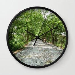 The Solemn Path, Killing Fields, Cambodia Wall Clock