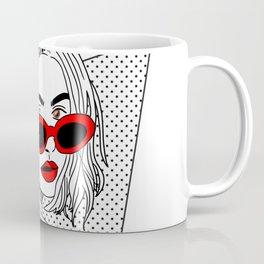 Woman extremely flammable Coffee Mug