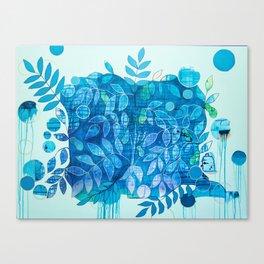 Paw Paw Patch Canvas Print