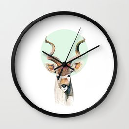 The Kudu  Wall Clock