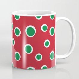 Christmas Dots Coffee Mug