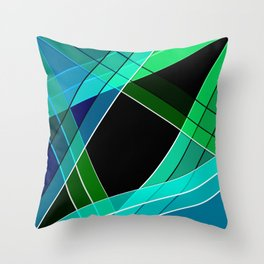 Abstract pattern 8 Throw Pillow