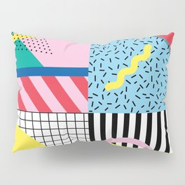 Memphis Party Pillow Sham