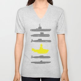 Know Your Submarines Unisex V-Neck