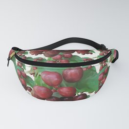 Sour Cherry, watercollor Fanny Pack
