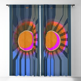 Full Moon Rays Blackout Curtain