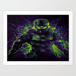 Future Halo Art Print