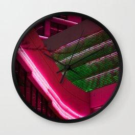 NEON XING Wall Clock