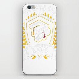 Class-of-2019---Class-of-2019-Graduation-T-Shirt iPhone Skin