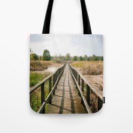 Sunny Summer Walk // Ohio Tote Bag